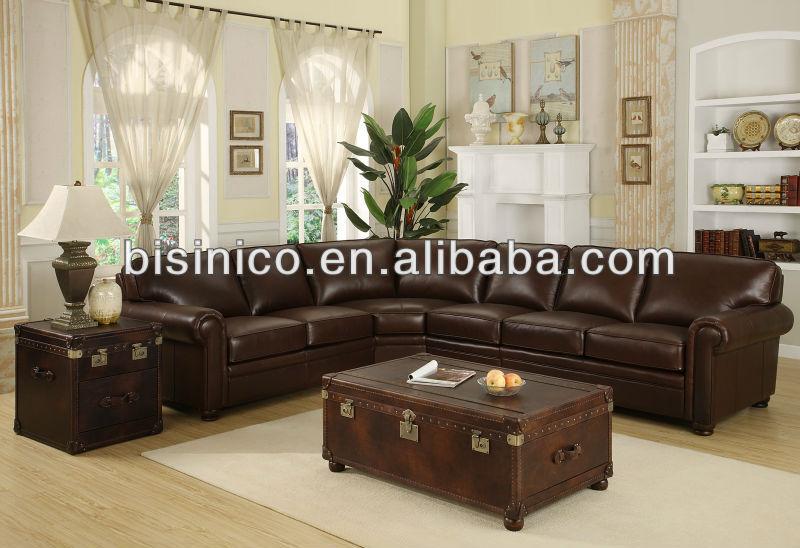 divano angolare classico,u forma divano del soggiorno set,tempo ... - Soggiorno Angolare Classico