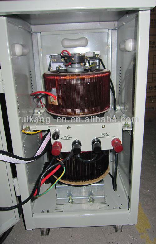 Avr 10000va Lcd Digital Automatic Voltage Stabilizer,Servo Motor ...