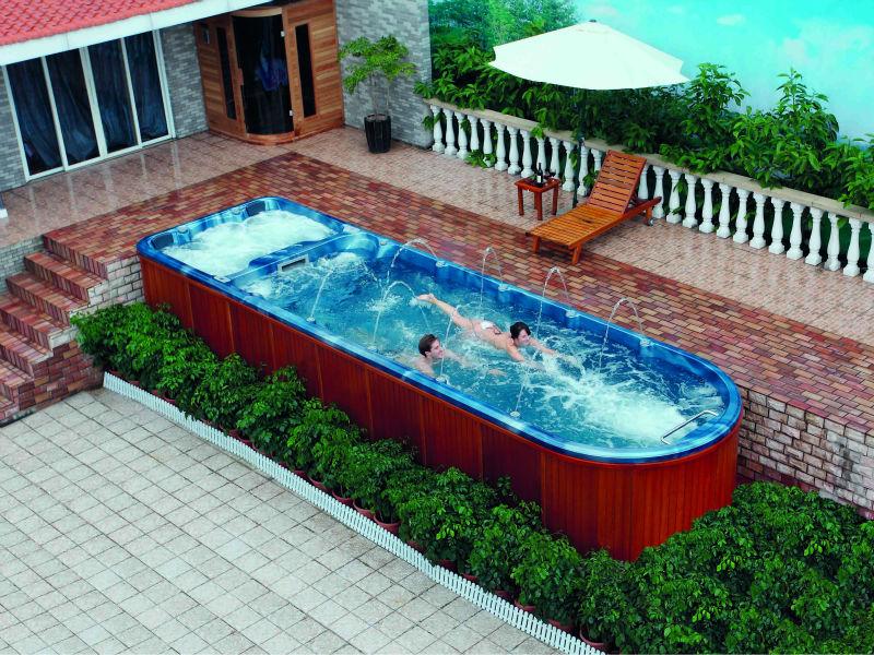 Exceptionnel Fiberglass Swimming Pool FS S08M (Freestanding)