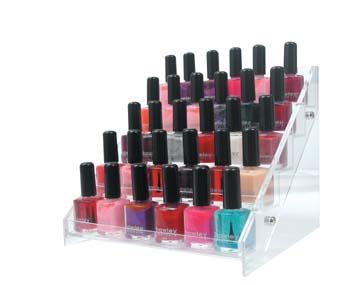 Clear Acrylic Nail Polish Display Stand - Buy Nail Polish Display ...