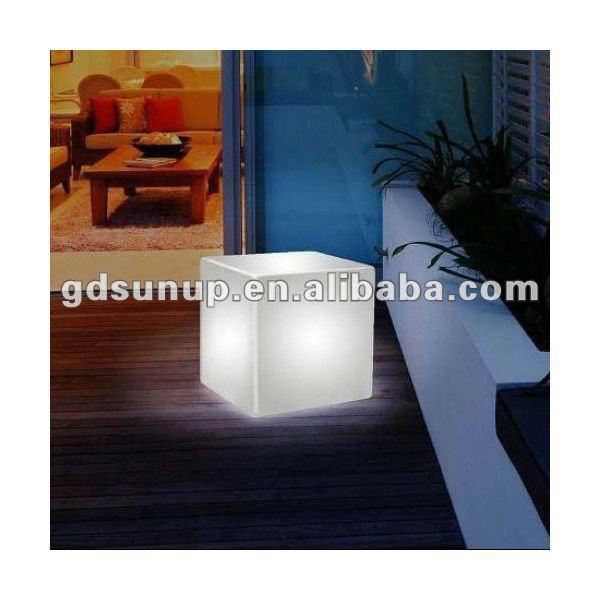 LED square light/illuminated LED cube/luminous stool/light-emitting kubo/