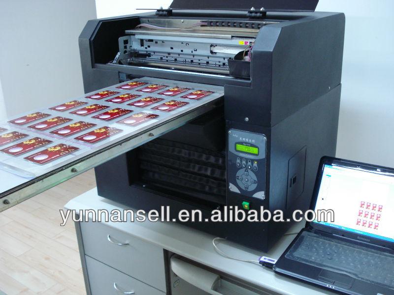 Hight Speed Pvc Plastic Acrylic Id Card Printer 20 Card On