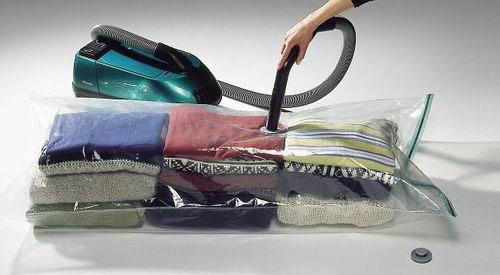 Vacuum E Saving Bag Clothes Compressed