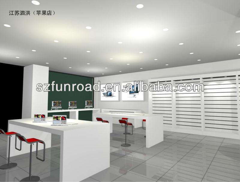 furniture design for mobile phone shop decoration / interior ...