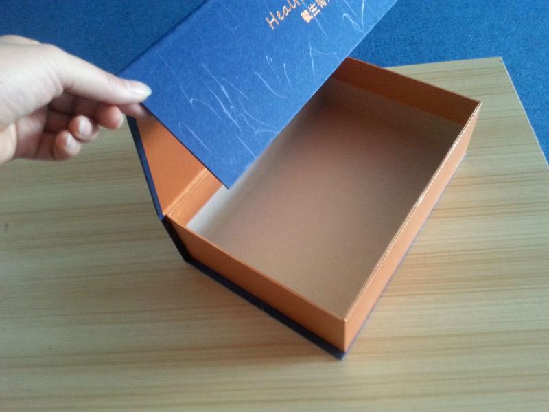 Top Quality Rigid Cardboard Gift Box With Lid,Custom Design Paper ...