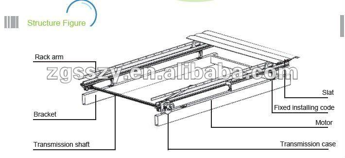 Aluminum Patio Roof Aluminum Panel Louver Roof