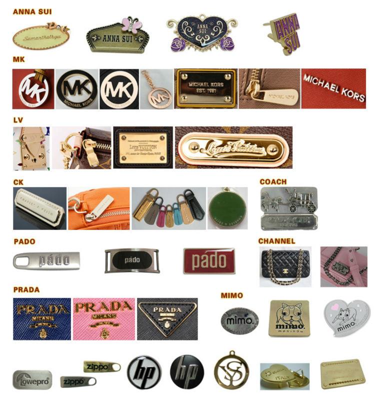 Famous Handbags Logos