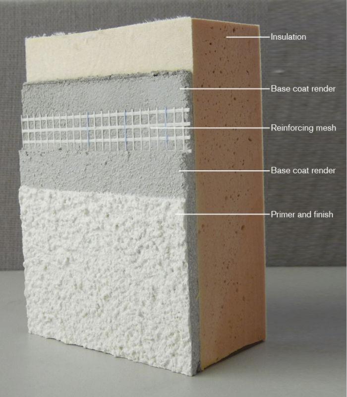 25kg Eifs Crack Resistant Basecoat Bag Buy Interior