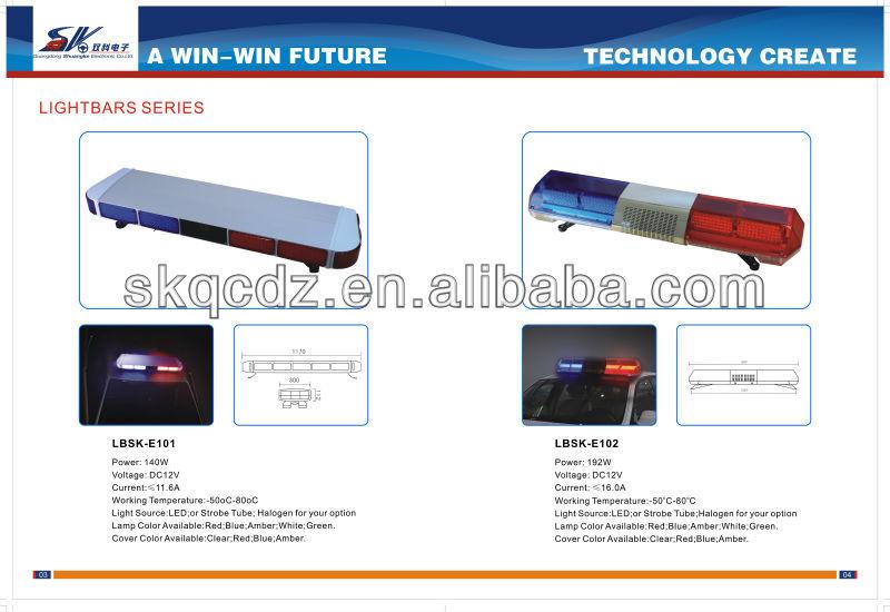 Led Warning Light Bar,Police Car Lightbar,Color-green/red/amber ...
