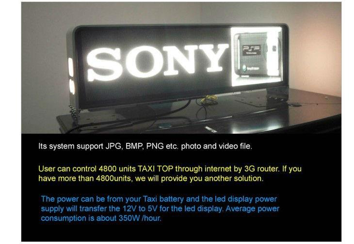 Led Advertising Lights Taxi Card Lights Sale 3g Input Magnetic Led ...