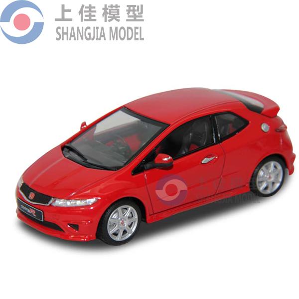 1 43 scale car toys customed honda diecast cars mini smart for Honda smart car