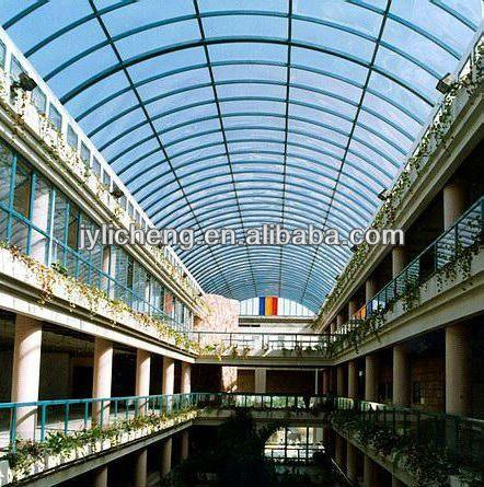 FRP Transparent Fiberglass Corrugated Roofing Sheet