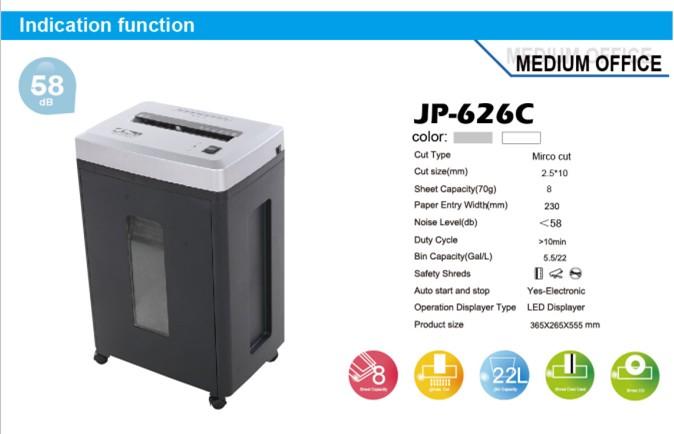 paper shredder machine specification -#main