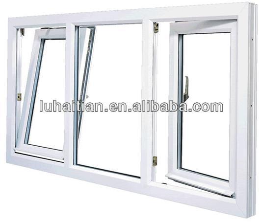 Cheap upvc windows and doors pvc tilt and turn window for Cheap pvc door