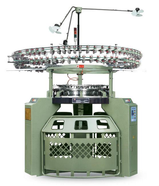 Knitting Loom Machine : Double terry towel loom jacquard circular knitting machine
