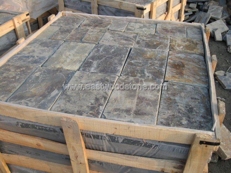 Golden Slate Patio Flooring Tile