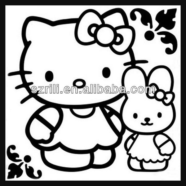 Bebas Oem Hello Kitty Fuzzy Babi Hutan Kertas Buy Babi Hutan