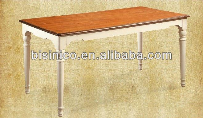 Bisini dining set engels landelijke stijl eetkamer meubels set keukentafel en stoelen - Meubels set woonkamer eetkamer ...