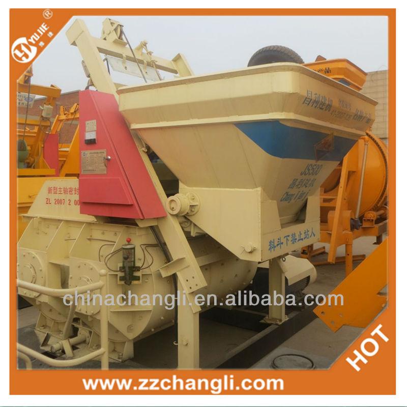 concrete mixer machine price