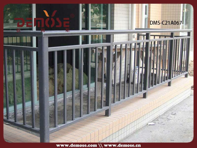 Pintura de aluminio terraza porche barandilla valla - Barandilla de aluminio ...