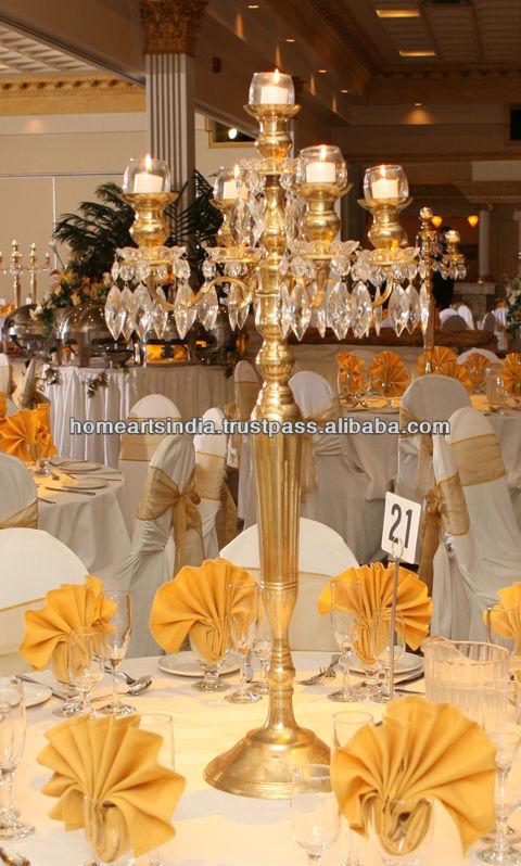 Wholesale silver candelabras centerpieces for wedding