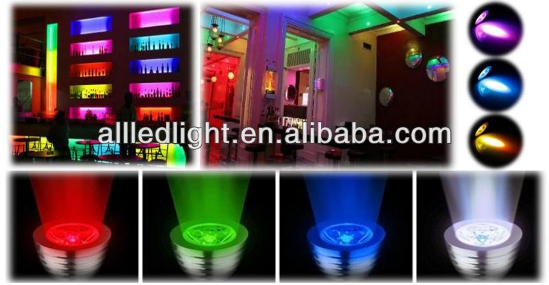 16 Kleuren Veranderen Rgb Led Lamp 3w E27 85-265v Wit Licht Lamp Rgb ...