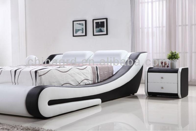 G996 Alibaba Italian Design Modern Wooden Beds Cheap