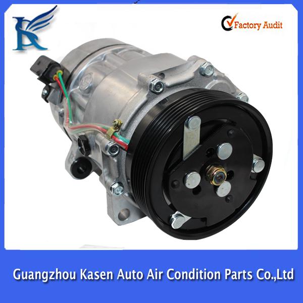 compresor de aire acondicionado de autos. 7v16 sd7v16 sanden compresor aire acondicionado r134a para skoda octavia seat audi a3 vw golf bora de autos