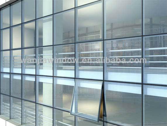Curtain Wall Design aluminum double glazed curtain wall design - buy aluminum double