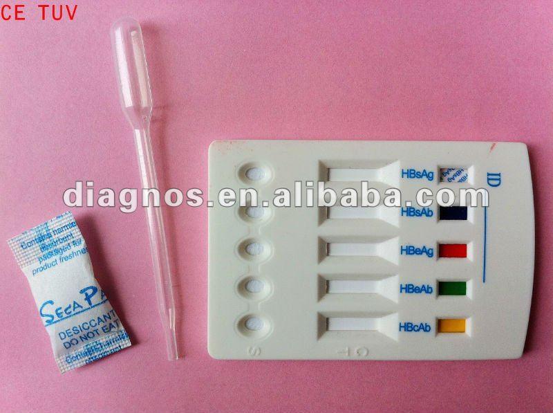 Hbv Rapid Test For Hepatitis Infectious Hepatitis B Virus Combo ...