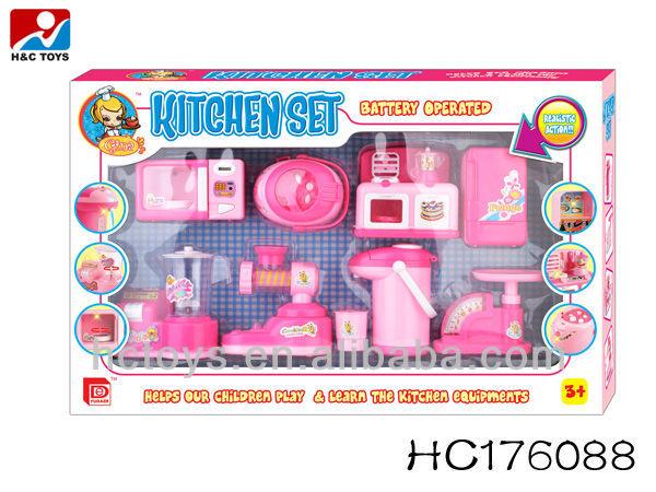 Beautiful Toy Kitchen Set Girls Cooking Set Hc185025 Buy Toy