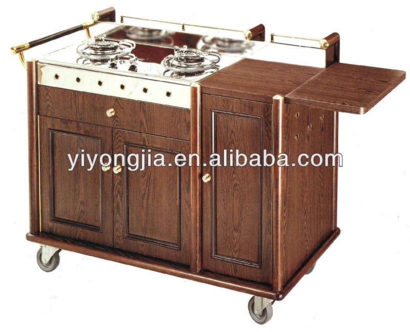 Fiamma Carrello/cucina Trolley/carrello Da Cucina/legno Flambe ...