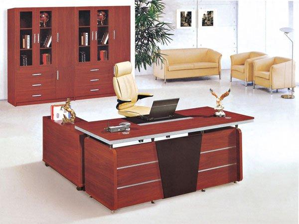 Wooden Modern Design Office Manager Desk