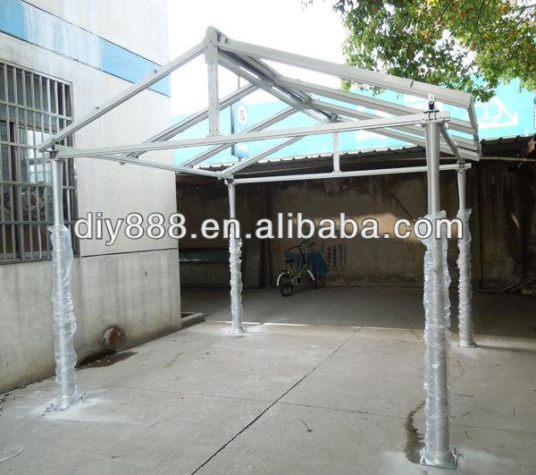 Diy Car Canopies : Diy aluminum solar canopy carport buy mobile