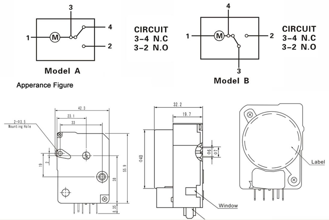 Defrost Timer Wiring Diagram - Wiring Diagrams Database