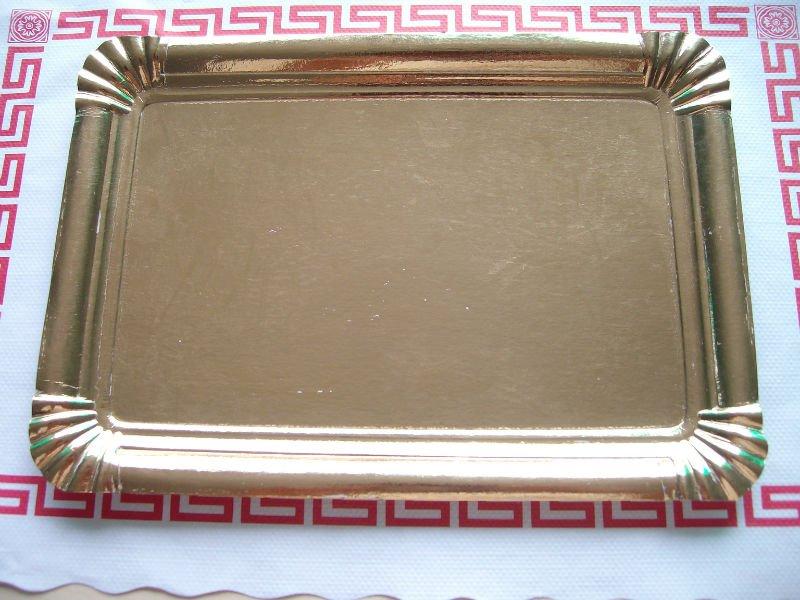 Rectangular Cake paper plates F105 & Rectangular Cake Paper Plates F105 - Buy Golden Paper PlatesPaper ...