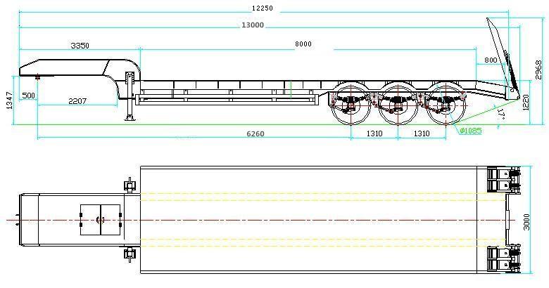 Semi Tractor Trailer Sizes : Semi trailer dimensions related keywords
