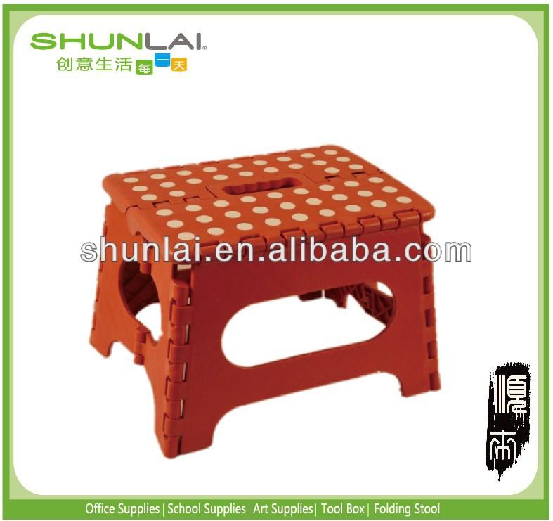 2X Plastic Portable Folding step stools Anti-slip Surface Seats Mini Chair For Kids Outdoor  sc 1 st  Alibaba & 2x Plastic Portable Folding Step Stools Anti-slip Surface Seats ... islam-shia.org