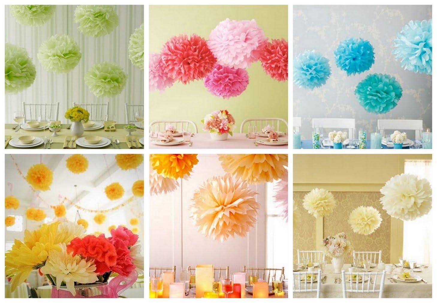aliexpress com 25cm 10 hand made tissue paper honeycomb - Pom Pom Decorations