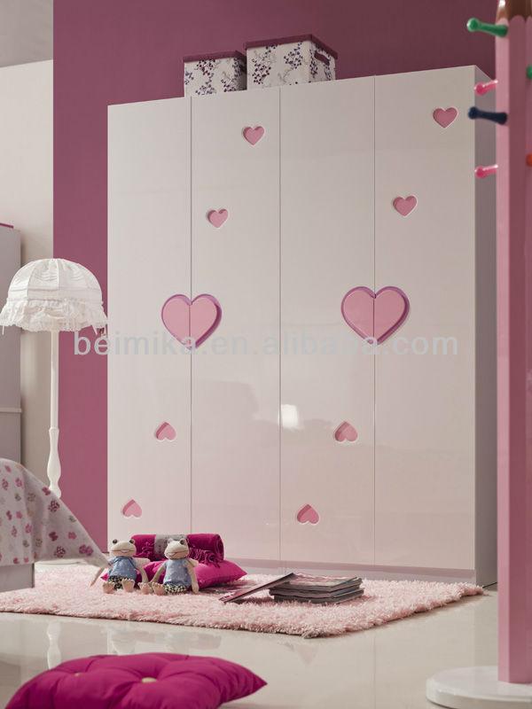 Niños Muebles De Dormitorio Baratos Girls Cama/dormitorio Juego De ...
