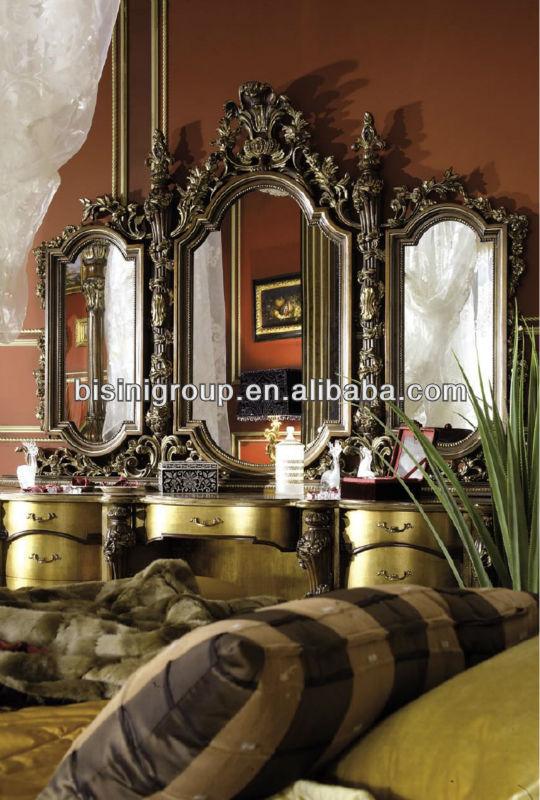 Di Lusso In Stile Barocco Letto Matrimoniale King Size Con Royal ...