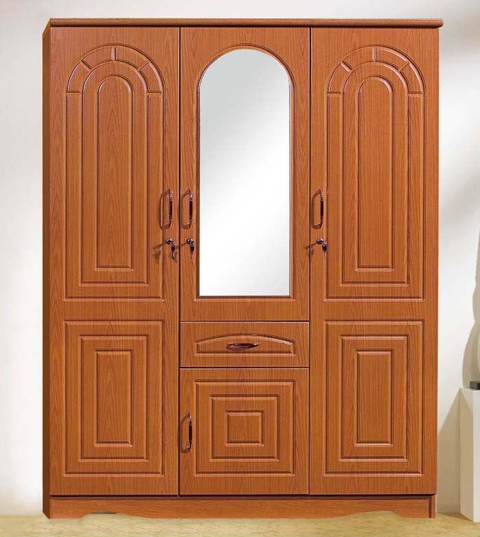 Bedroom furniture high quality doors wooden wardrobe