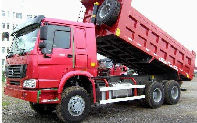 Howo Sand Tipper Truck 6x4