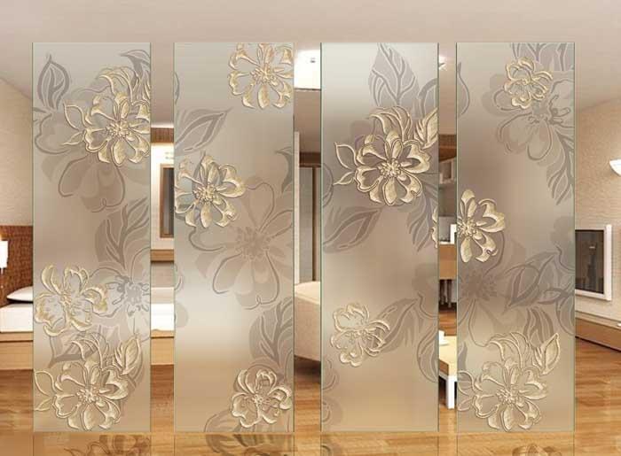 Decorative Acid Etched Mirror Glass Buy Decorative