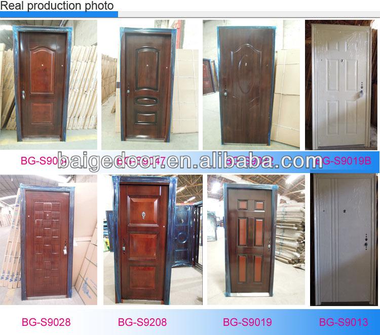 Bg-S9011 Unique Home Designs Security Doors / Steel Frame Door
