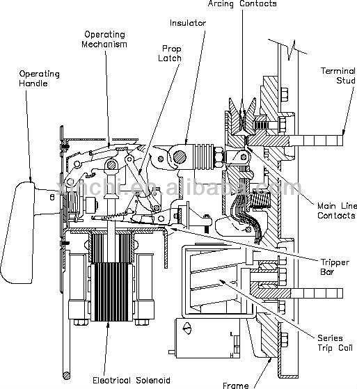 air circuit breaker acb 1600a