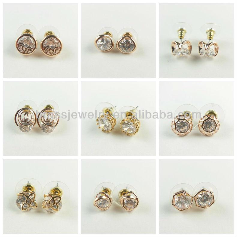 New Design 2 Gram Gold Beautiful Designed Earrings Buy 2 Gram