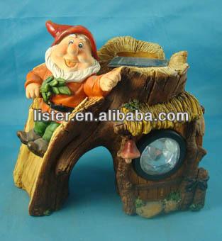 solar divertido jardn gnomos gnome figuras para decoracin de jardn