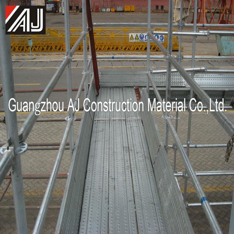 Steel Toe For Scaffolding Boards : Galvanized scaffolding steel plank metal