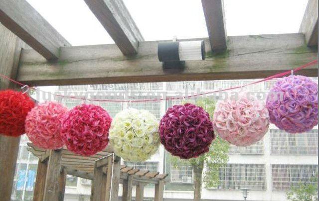 Purple Hanging Flower BallWedding Decorative Flower Ball Buy
